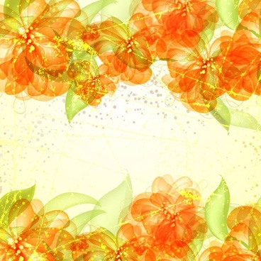 colorful flowers background 05 vector