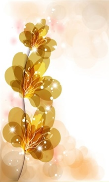 colorful flowers vector gorgeous bright starlight