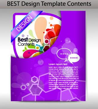 colorful folder element vector graphic