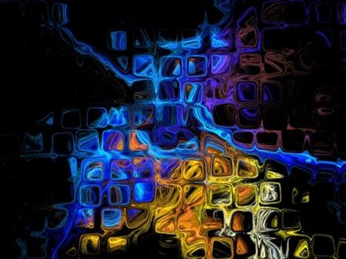 colorful fractal artwork