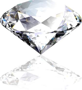 colorful gems design vector