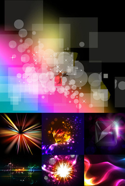 colorful gorgeous background vector