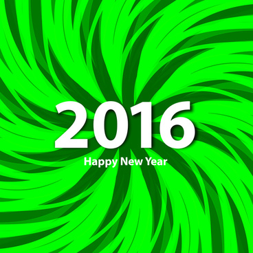 colorful happy new year 2016 background