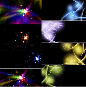 colorful light background vector
