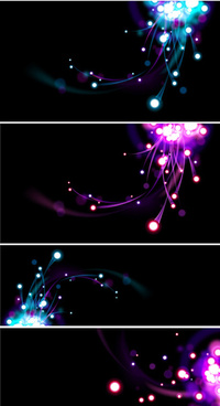 colorful light background vector graphic