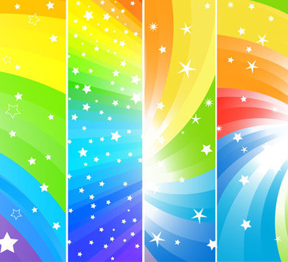 colorful lines background vector
