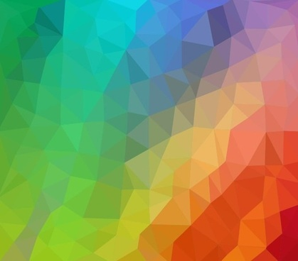 colorful low poly abstract background vector illustration