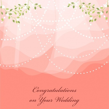 wedding background elegant transparent design leaves decor