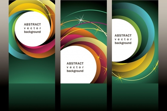 decorative background templates modern colorful dynamic twist decor