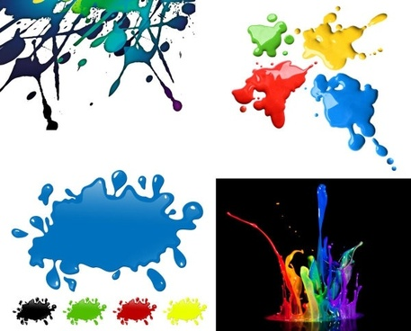 colorful pigments definition picture