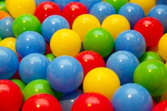 colorful play balls