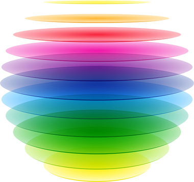 colorful rainbow background vector