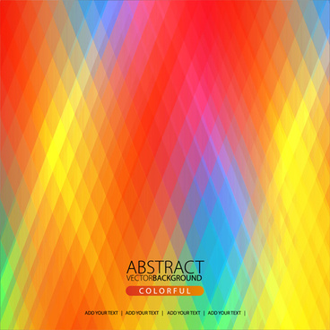 colorful rhombus shining background vector