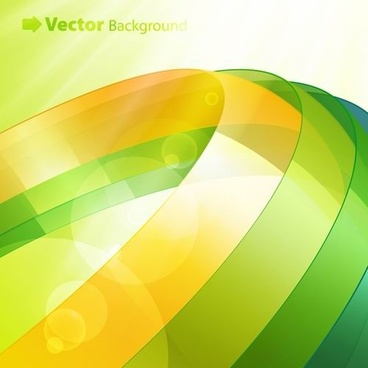 colorful ribbons vector background 4