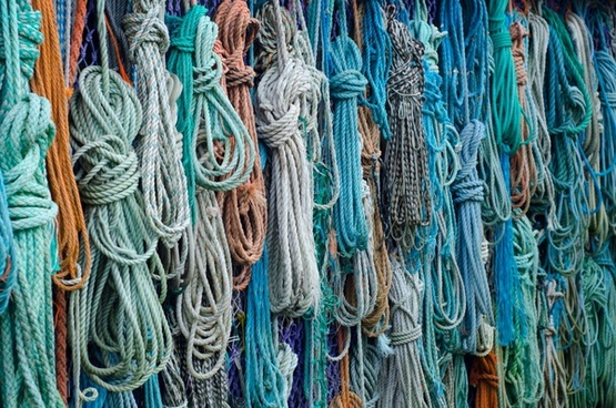colorful ropes