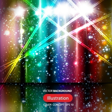 colorful shiny background graphic vector