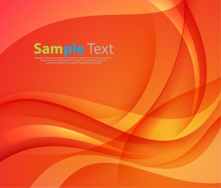 colorful smooth wave vector background