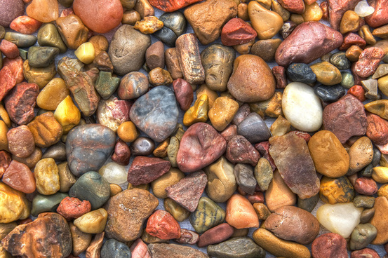 colorful southwest rocks