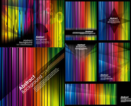colorful striped background vector