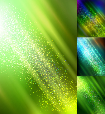 Colorful sun ray background vector