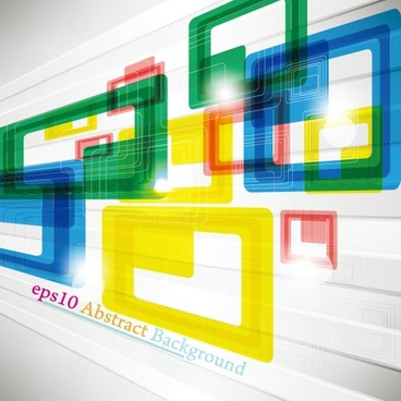 colorful trend background 04 vector