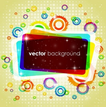 colorful vector background 1