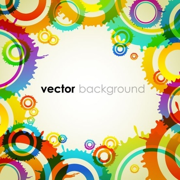 colorful vector background 4
