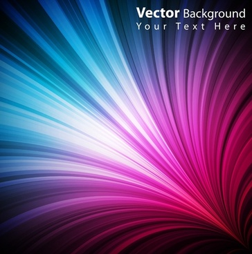 colorful vector background color of the beam 3