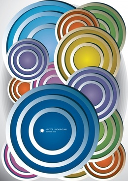 colorful vector color flow lines