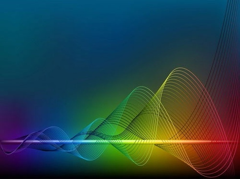 decorative background colorful dynamic twisted 3d lines