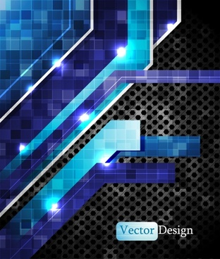 colorful vector dynamic technology