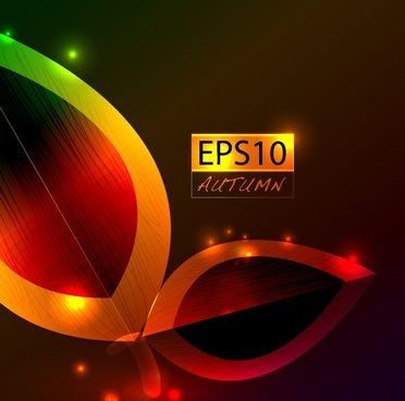 colorful vector gorgeous dazzling bright spot