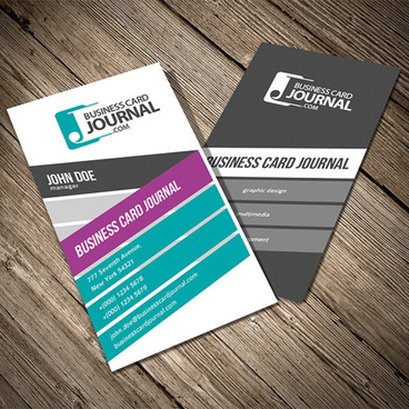 Vertical business card free vector download 23226 free vector for colorful vertical business card template cheaphphosting Image collections