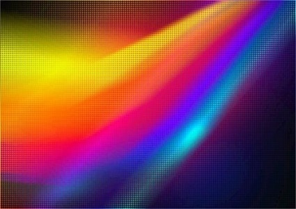 colorful wavy art background vectors