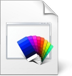 Colorfull document