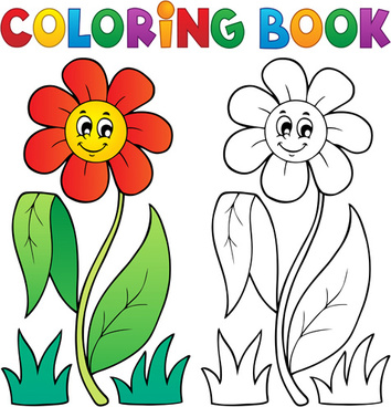 Coloring book cartoon free vector download (38,691 Free vector) for ...