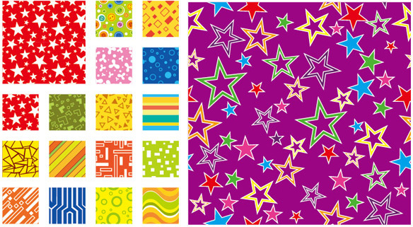colors elements background vector