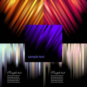 colour stripe background vector