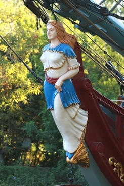 columbia figurehead