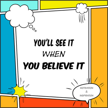 comic book template with text cloud vector