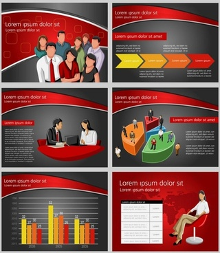 commercial and financial ppt background 03 vector