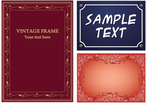 common frames 4 vector