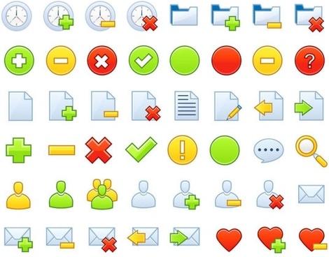 common vector web icons 02 vector