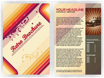 commonly business brochure cover design vector