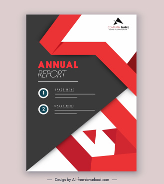 Annual Report Template Word Free Download from images.all-free-download.com