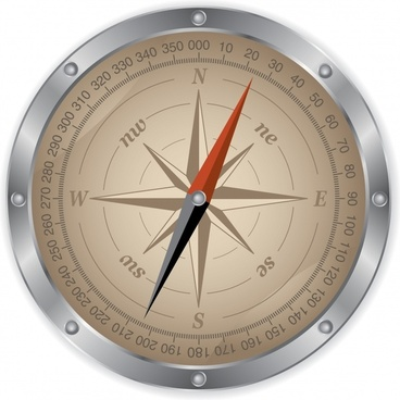 compass backgroundmodern closeup design