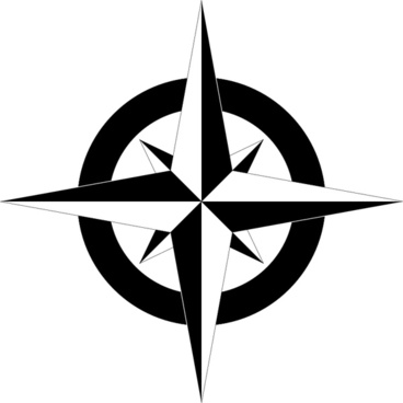Compass transparent background PNG File.