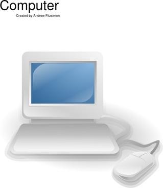 Computer Clip Art - Royalty Free - GoGraph