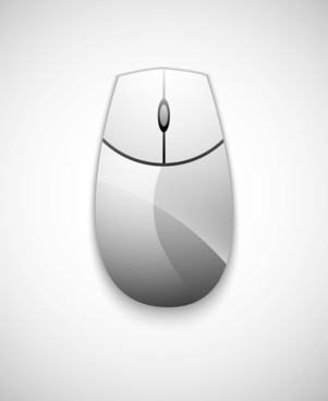 computer mouse vector icon illustration design