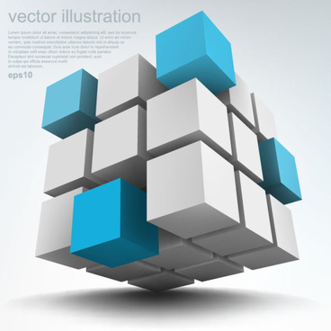 concept 3d vector background graphics